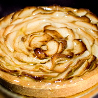 Apple & Custard Tart